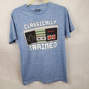 Nintendo Blue, Black, White Sz S #AP12